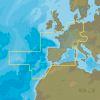 C-MAP EW-Y060: MAX-N+ C: CNTRL - WEST EURO CONTL