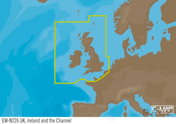 C-MAP EW-Y226 : Uk  Ireland and The Channel