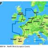 C-MAP EW-Y227 - North-West European Coasts - MAX-N+ -European-Wide