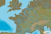 C-MAP EW-Y230 : Eaux intérieures du Nord-Est de la France