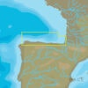 C-MAP EW-Y314 : MAX-N+ L: LA CORUNA TO MIMIZAN : West European Coasts - Local