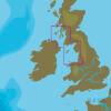 C-MAP EW-Y322 : MAX-N+ L : MER IRLANDAISE ET CANAL DU NORD : Côtes de l'Europe occidentale - Local
