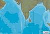 C-MAPPA IN-N213 : India Costa Sud Est e Sri Lanka