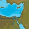 C-MAP ME-N014 : MAX-N L: EGYPTIAN MEDITERRANEAN COAST : Red Sea