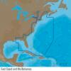 C-MAP NA-Y022 : USA East Coast and the Bahamas