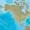 C-MAP NA-Y036 : MAX-N+ C: US COASTAL AND RIVERS  CONTINENTAL : Freshwaters North America - Continental