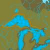 C-MAP NA-Y930 : Lac Supérieur