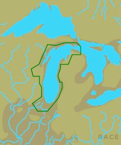C-MAP NA-Y931 : Lake Michigan