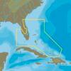 C-MAP NA-Y943 : Florida and The Bahamas