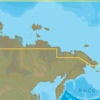 C-MAP RS-N204 : Russian Federation North East