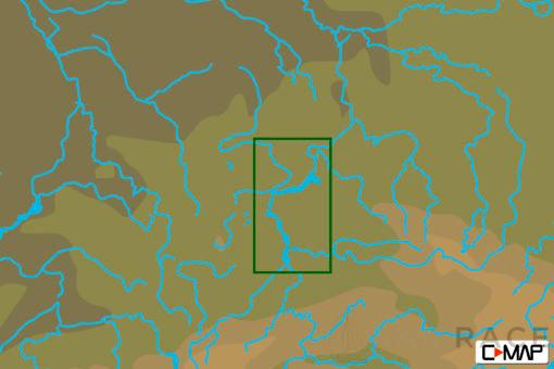 C-MAP RS-N242 : Krasnoyarskoe Reservoir