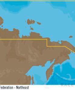 C-MAP RS-Y204 : Federazione Russa Nord Est