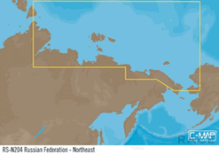 C-MAP RS-Y204 : Federación de Rusia Noreste