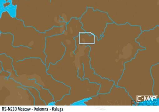 C-MAP RS-Y230 : Moscow-Kolomna-Kaluga