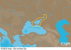 C-MAP RS-Y235 : Volgo-Don and Azov Sea