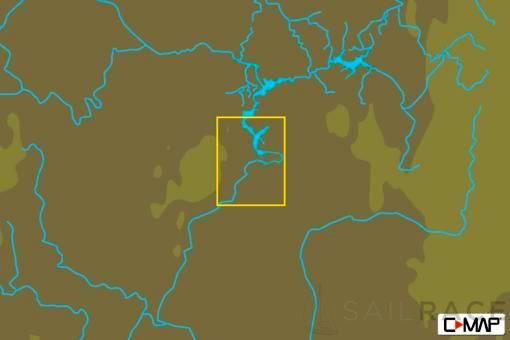 C-MAP RS-Y239 : Ul Anovsk-Balakovo