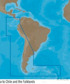C-MAP SA-Y500 : Costa Rica to Chile to Falklands