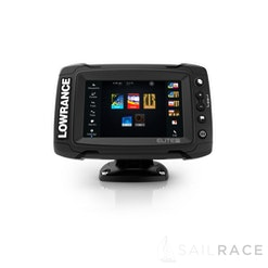 Lowrance Elite-5 Ti with Mid/High/TotalScan™ and South Europe Card