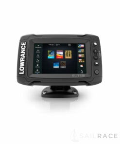 Lowrance Elite-5 Ti  with Mid/High/TotalScan™ with Free Insight Pro Card