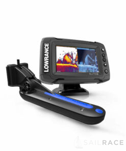 Lowrance Elite-5 Ti  with TotalScan™ Transducer and UK MAX-N Card for UK