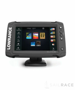 Lowrance Elite-7 Ti with Mid/High/TotalScan™ Transducer and South Europe Card