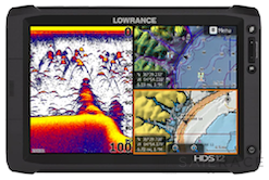 Lowrance HDS-12 GEN2 Touch ROW with 83/200 and StructureScan Transducer