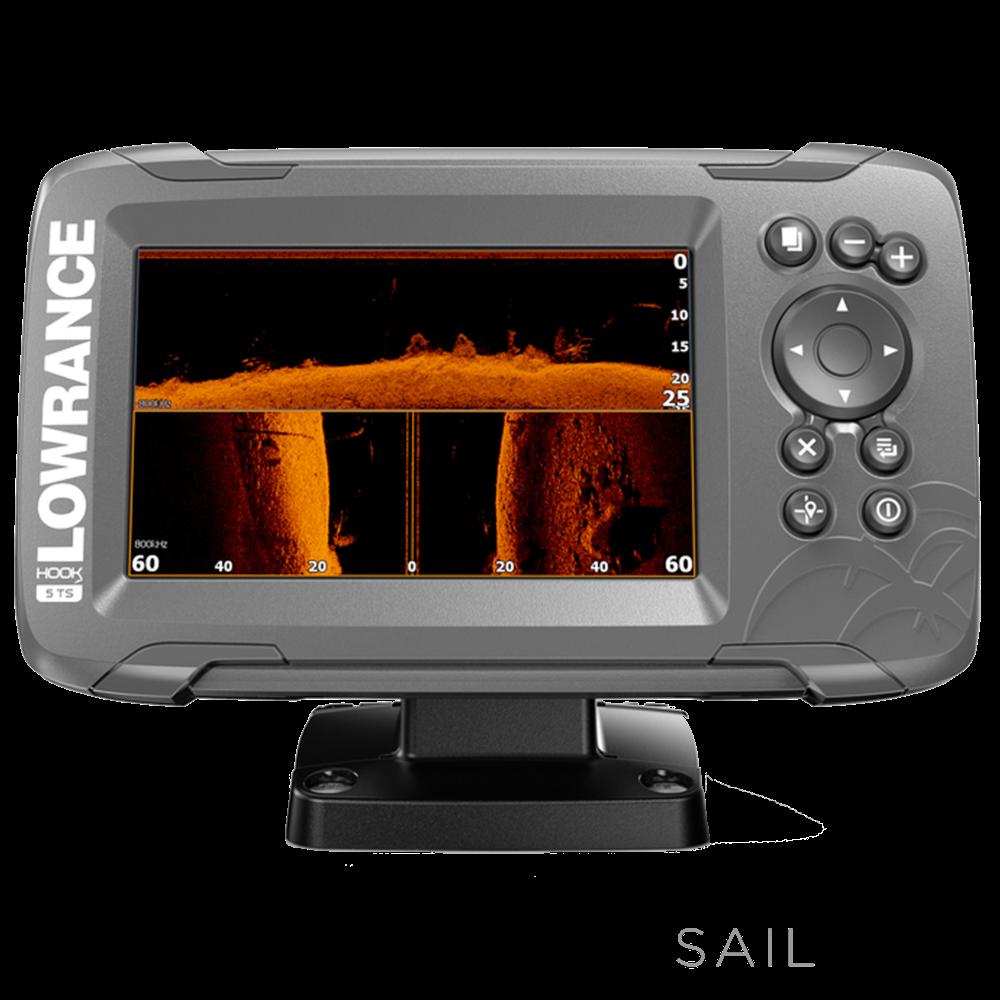Lowrance HOOK2-5  SplitShot US Coastal/ROW (West Marine exclusive in the USA)