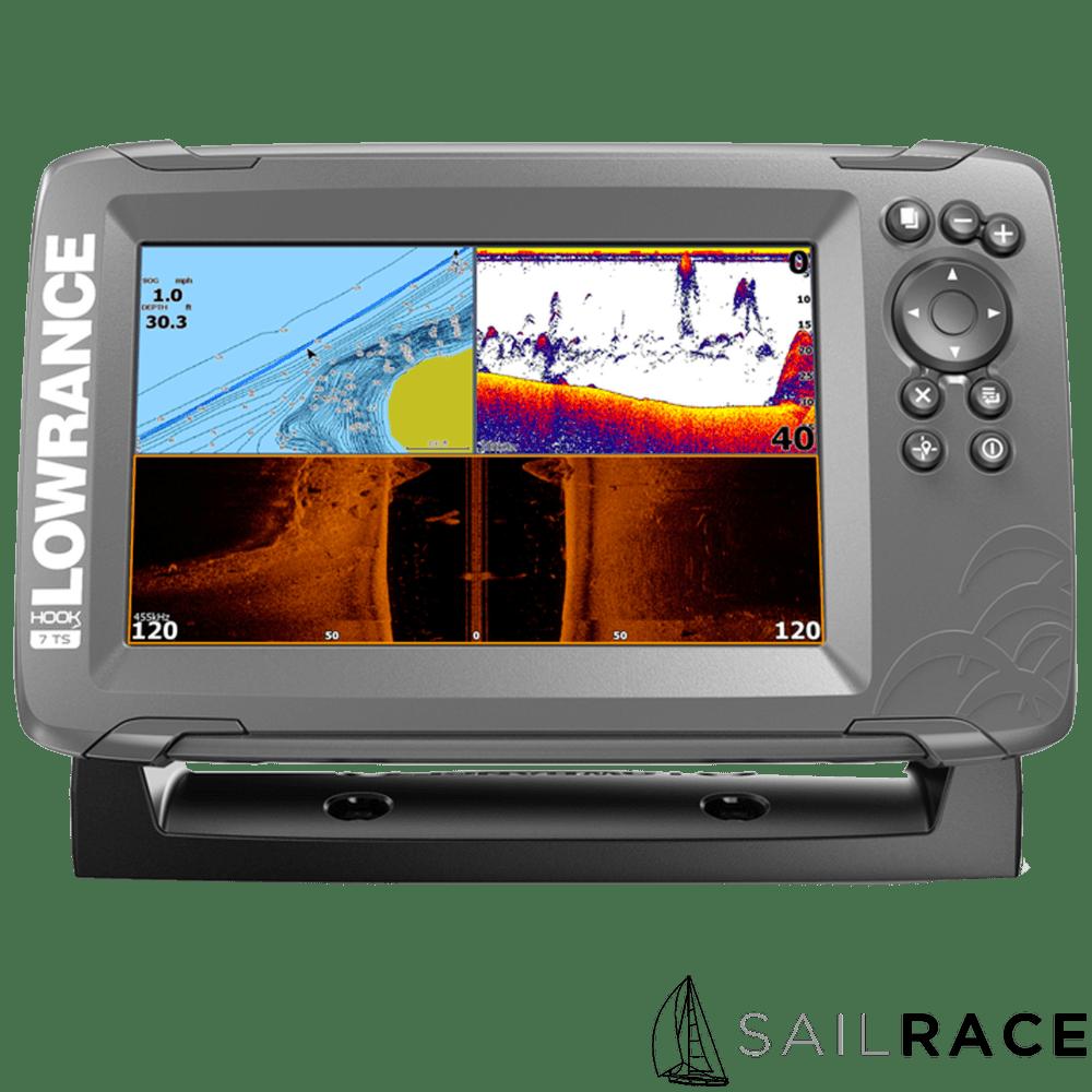 Lowrance HOOK2-7  TripleShot US Coastal/ROW (West Marine exclusive in the USA)