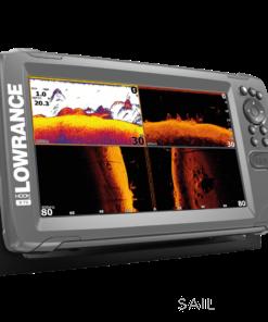 Lowrance HOOK2-9 TripleShot US Coastal/ROW  (West Marine exclusive in the USA)