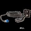 Navico HST . DFSBL 50/200 kHz skimmer à montage sur tableau arrière profondeur/température . connecteur bleu à 7 broches