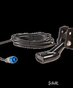 Navico HST . DFSBL 50/200 kHz transom-mount skimmer depth/temp . blue 7 pin connector