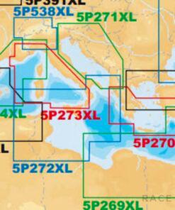 Navico Navionics Platinum+ 5P272XL Central Mediterranean