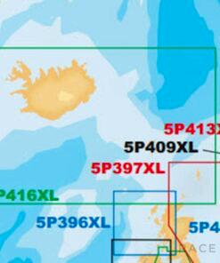 Navico Navionics Platinum+ 5P416XL Iceland to Faeroe Islands