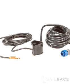 Navico PDRT-WBL 83/200 kHz shoot-thru or trolling-motor mount Skimmer® with remote temp sensor with blue connector