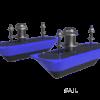 Navico StructureScan 3D Transductor de acero inoxidable de doble casco
