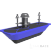 Navico StructureScan 3D Transducer Stainless Steel Thru-Hull Single