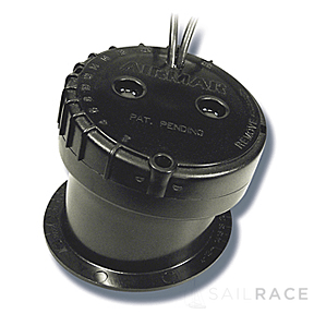 Navico Xsonic P79 Plastic 600 W In-Hull 50/200 Khz Depth Only . Black 9 pin connector