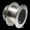 Navico XSONIC SS164 Stainless Steel Low Profile Thru Hull 1kW 50/200 Khz Depth/Temp (12° tilt) . black 9 pin connector