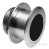 Navico XSONIC SS164 Stainless SteelLow Profile Thru Hull 1kW 50/200 Khz Depth/Temp (0° tilt) . Black 9 pin connector