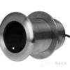 Navico Xsonic SS75M Stainless Steel 600 W Thru Hull Medium CHIRP (80-130kHz) Depth/Temp (0° tilt) . Black 9 pin connector