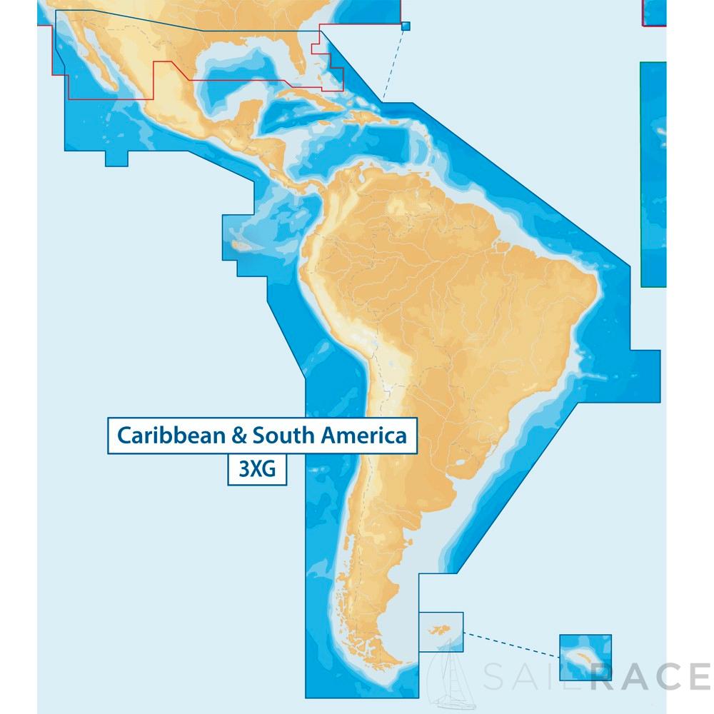 Navionics North and South America (inc. Caribbean)