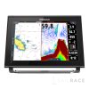 Simrad 12-inch chartplotter and radar display with TotalScan™ transducer