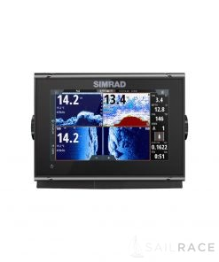 Simrad 7-inch chartplotter and radar display with TotalScan™ transducer