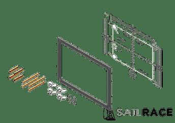 Simrad Dash mount kit for GO9 and Vulcan 9