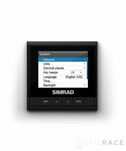 Simrad Easily visible day or night