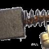 Simrad Motor replacement brush for Paravalaux RPU80/160 Motors (pair)