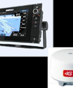 Simrad NSS9 evo2 combo 4G Radar Kit. No Cartography - image 2