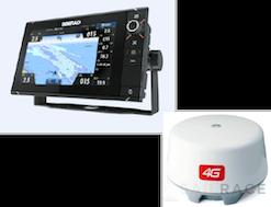 Simrad NSS9 evo2 combo 4G Radar Kit. No Cartography