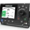 Simrad Pro The A2004 is a dedicated autopilot controller designed to meet the needs of professional mariners aboard a variety of commercial vessels