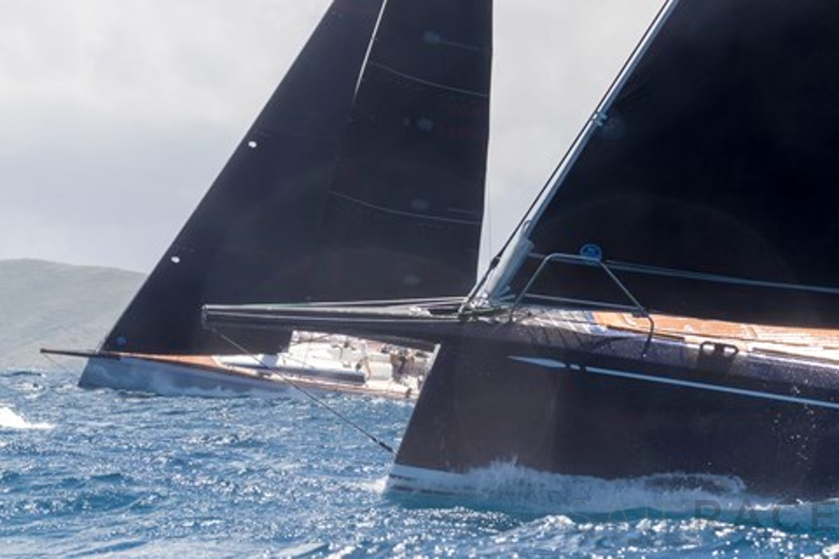 SailRACE - two boats sail racing
